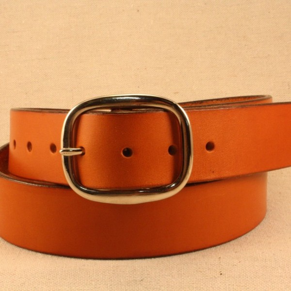 Hand Crafted Rugged Leather Belt Quot The Wesley Quot Always