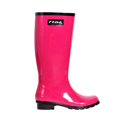 Roma Women S Glossy Rain Boots Always An Adventure