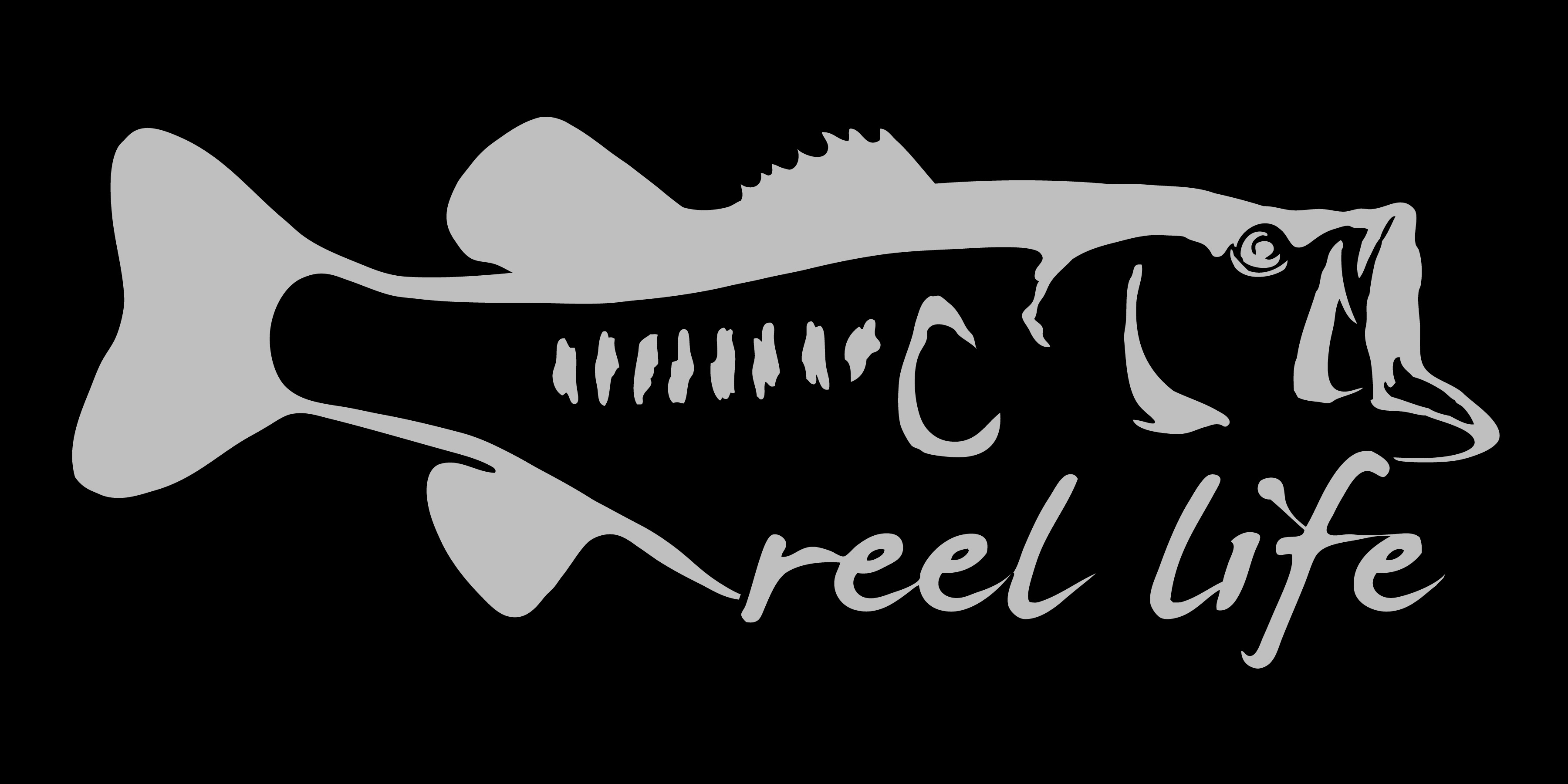 Bass decal 11 inch always an adventure for Bass fishing decals