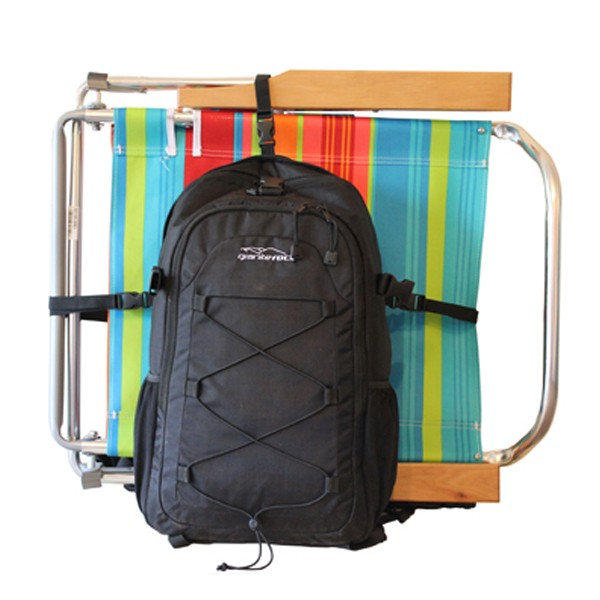 Backpack Carries Chair Detachable Cooler